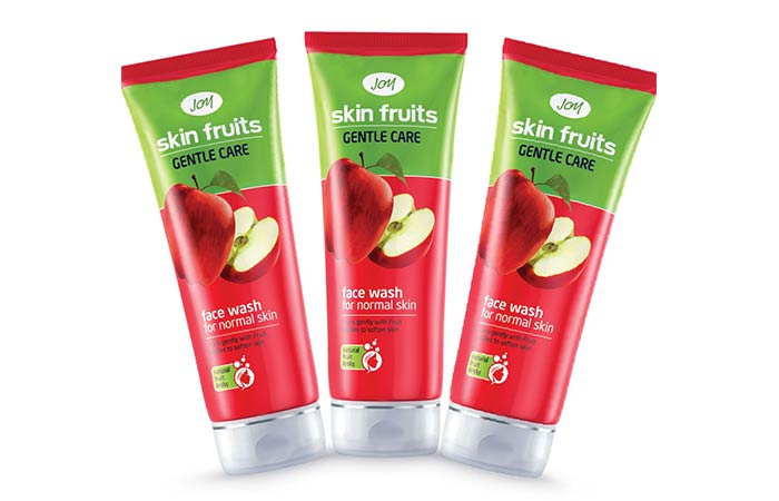 9. Joy Skin Fruits Face Wash For Normal Skin