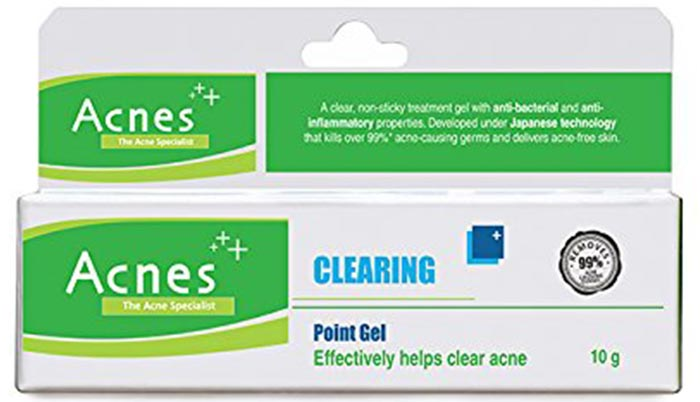 Acnes+ Clearing Point Gel - Anti-Acne And Anti-Pimple Creams