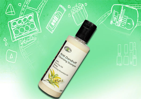 Aloe Veda Cleansing Anti Dandruff Shampoo with Tea Tree Oil
