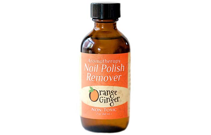Aromatherapy Orange Ginger Nail Polish Remover