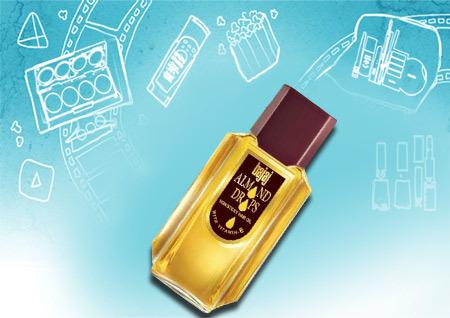 Bajaj Almond Drops Non Sticky Hair Oil With Vitamin E