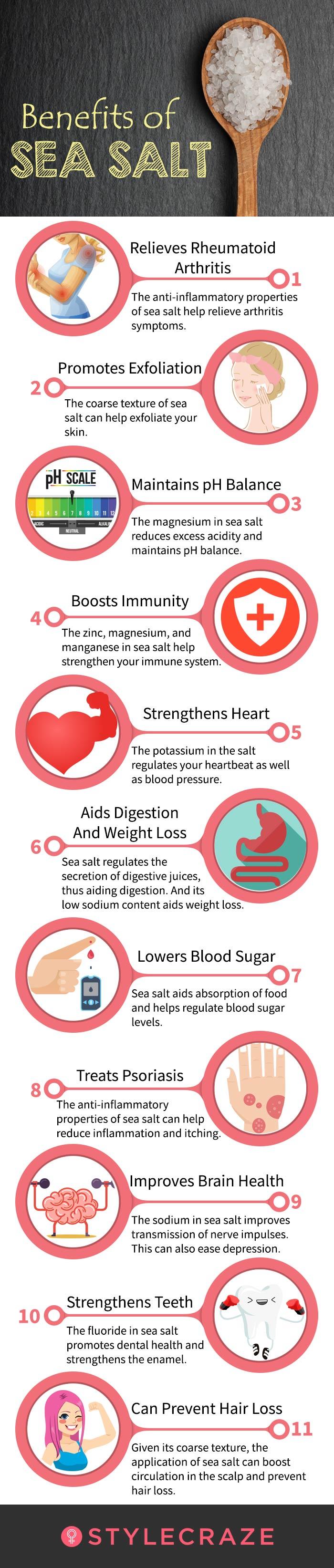 20 Spectacular Benefits Of Sea Salt