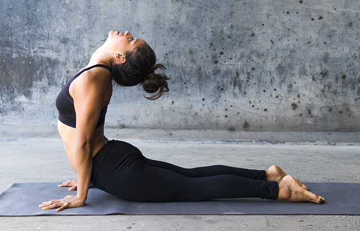 Bhujangasana - Yoga for Weight Loss