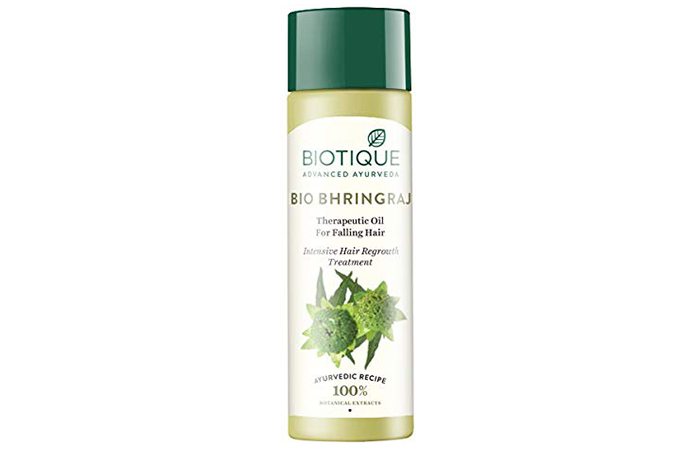 Biotique Bio Bhringraj Therapeutic Oil For Falling Hair - Hair Growth Oils