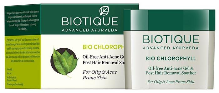 Biotique Bio Chlorophyll Oil-Free Anti-Acne Gel - Anti-Acne And Anti-Pimple Creams