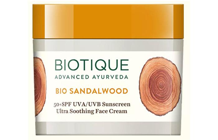Biotique Bio Sandalwood Ultra Soothing Face Cream
