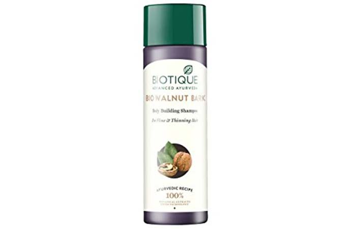 Biotique Bio Walnut Bark Body Building Shampoo