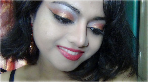 Bronze eye makeup 14