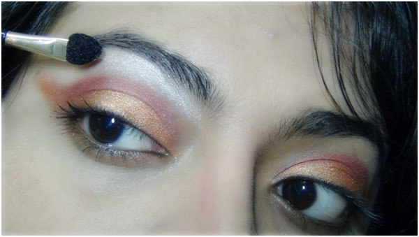 Bronze eye makeup 7