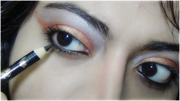Bronze eye makeup 8
