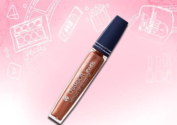 Chambor Jewel Metallic Lip Gloss – 710 Crayon