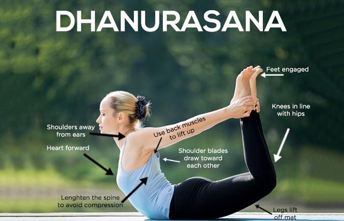 Dhanurasana