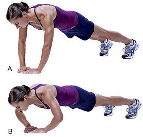 Diamond Pushup