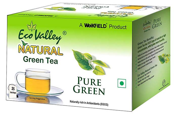 Eco Valley Natural Green Tea, Pure Green