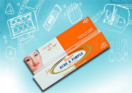 Eraser Acne and Pimple Cure Cream