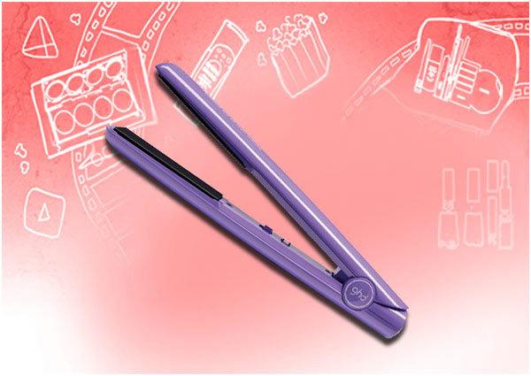 GHD IV violet styler