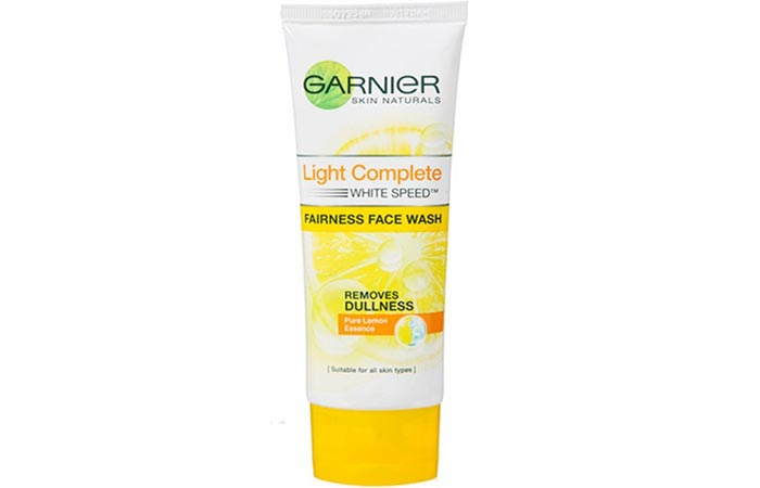 Garnier Skin Naturals Light Complete White Speed Fairness Face Wash