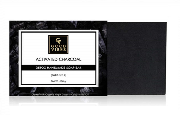 Good Vibes Activated Charcoal Detox Handmade Soap Bar