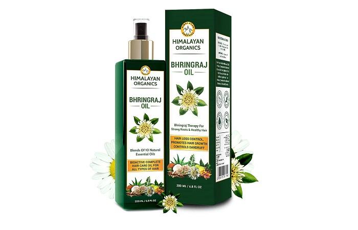 Himalayan Organics Bhringraj Oil