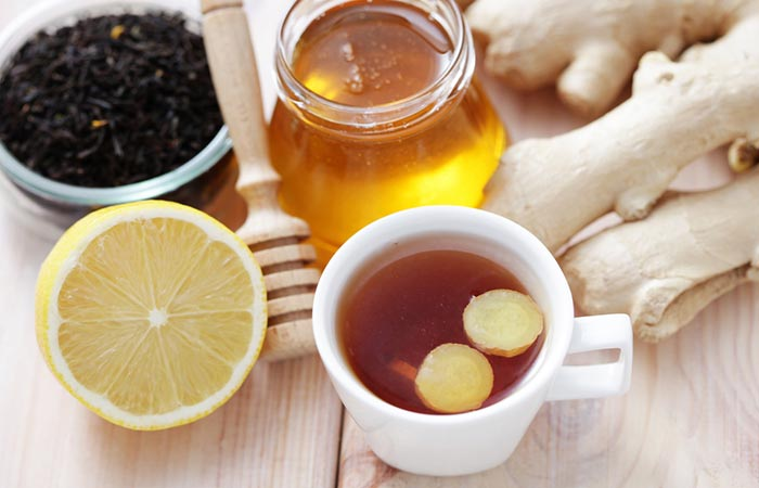Lemon Ginger Tea - How To Make Lemon Ginger Tea