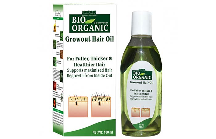 Indus Valley Bio Organic Grow Out Hair Oil - Hair Growth Oils