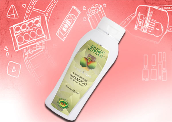 Jovees Honey and Apple conditioning shampoo