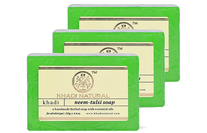 KHADI NATURAL Neem-Tulsi Soap
