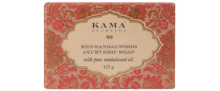 Kama Ayurveda Red Sandalwood Ayurvedic Soap