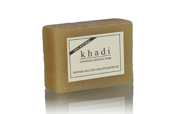 Khadi Cinnamon Patchouli Soap