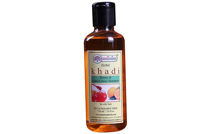 Khadi Honey & Lemon Juice Shampoo