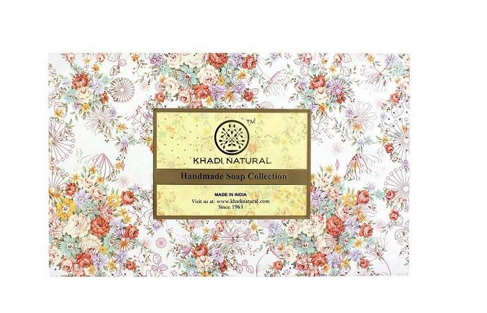 Khadi Natural Handmade Soap Collection