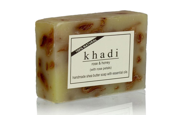 Khadi Rose & Honey Soap