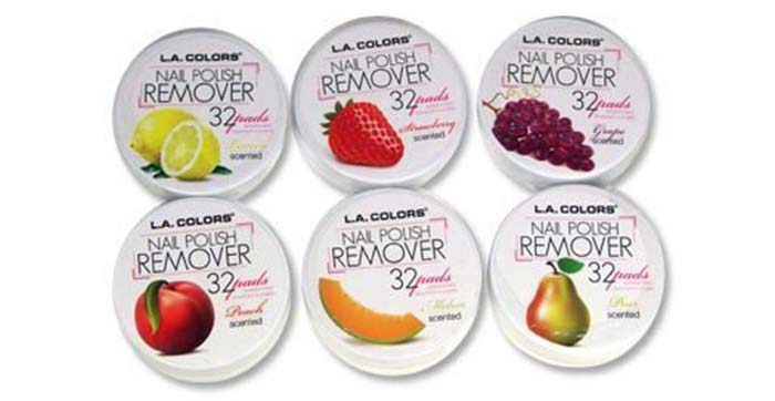 L.A Colors Nail Polish Remover Pads