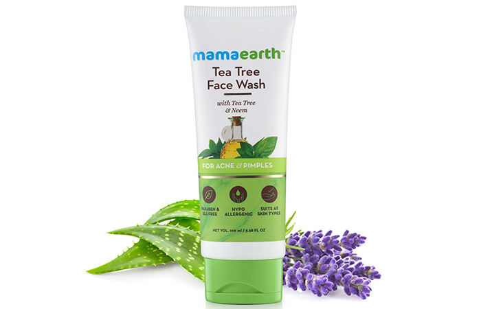 Mamaearth Tea Tree Face Wash With Tea Tree And Neem