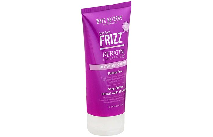 Marc Anthony True Professional Bye Bye Frizz Keratin Smoothing Blow Dry Cream