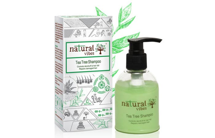 Natural Vibes Tea Tree Shampoo