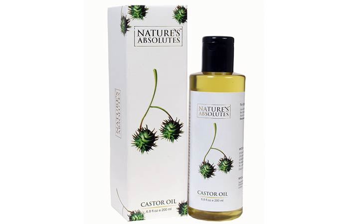 Nature's Absolutes Castor Oil - Hair Growth Oils