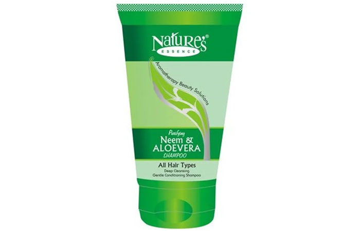 Aloe vera shampoo - Nature's Essence Purifying Neem And Aloe Vera Shampoo_1