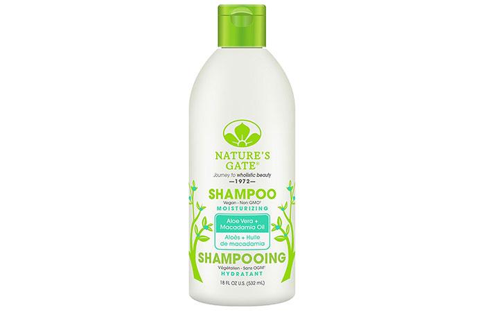 Aloe vera shampoo - Nature's Gate Aloe Vera And Macadamia Oil Shampoo