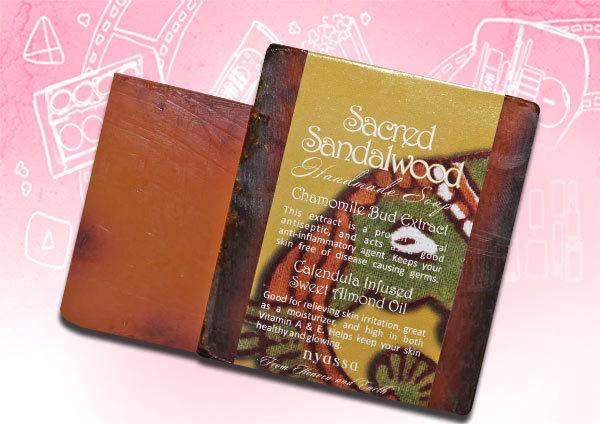 Nyassa Sacred Sandalwood Soap
