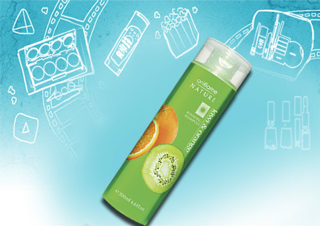 Oriflame Kiwi & Orange Boosting Shampoo