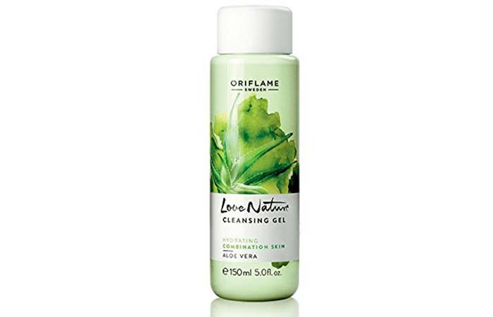 Oriflame Love Nature Cleansing Gel Aloe Vera