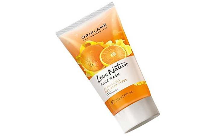Oriflame Love Nature Face Wash – Orange