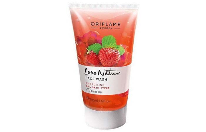 Oriflame Love Nature Face Wash – Strawberry