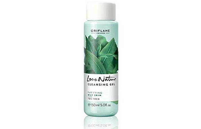 Oriflame Love Nature Tea Tree Cleansing Gel For Oily Skin