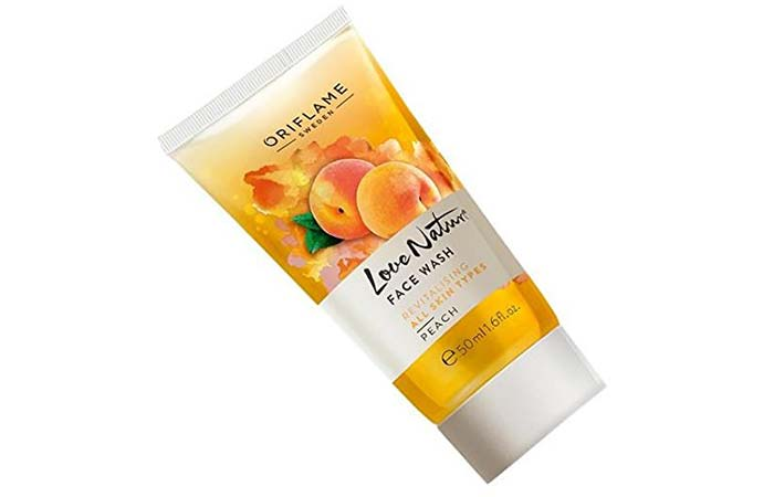 Oriflame Sweden Love Nature Face Wash – Peach