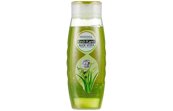 Aloe vera shampoo - Patanjali Kesh Kanti Aloe Vera Hair Cleanser