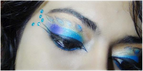 Peacock Eye Makeup 15
