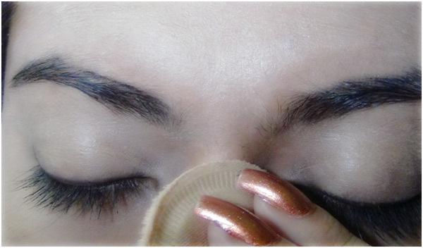 Peacock Eye Makeup 3