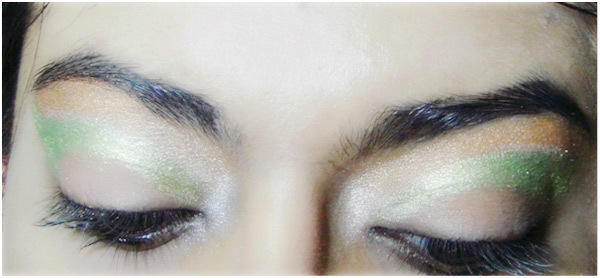 Peacock Eye Makeup 6
